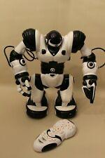 Robot WowWee Robosapien 35 cm noir et blanc avec sa télécommande - fonctionne