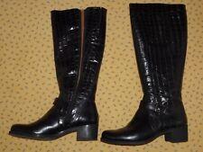 schwarze kniehohe Stiefel Marke Wonders aus Spanien schwarz Gr. 37 neuwertig