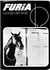 """""""FURIA CAVALLO DEL WEST"""" RARO QUADERNO COPERTINA N.8 (NUOVO) VINTAGE ANNI 70/80"""
