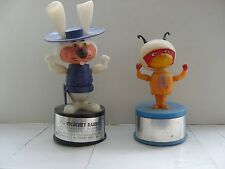 Hanna Barbera Kohner Bros.1960'S Push Puppet Atom Ant And Ricochet Rabbit Cool !