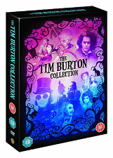 Tim Burton Collection Boxset (inc Batman, Corpse Bride + 6 more) (DVD) (C-18) HW