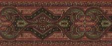 Multi-Colored Exotic Tapestry Wallpaper Border