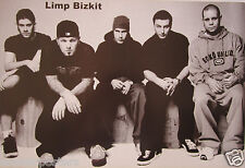"""LIMP BIZKIT """"GROUP SITTING TOGETHER"""" POSTER FROM ASIA - Nu/Rap Metal Music"""