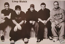 "Limp Bizkit ""Group Sitting Together"" Poster From Asia - Nu/Rap Metal Music"