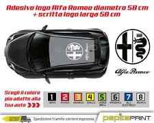 Adesivi tetto fascia laterale fiancata ALFA ROMEO stickers MITO 147giulia tuning