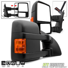 L+R 1999-2007 Ford F250/F350 Super Duty Power+Heated+Signal Towing Side Mirrors