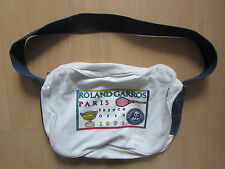 COLLECTION SAC ROLAND GARROS /TOILE/ FRENCH OPEN 1991VINTAGE