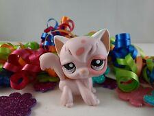 Littlest Pet Shop Pink Angora Long Hair Cat #1726