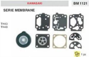 SERIE KIT MEMBRANE CARBURATORE DECESPUGLIATORE KAWASAKI TH43 TH48 TH 43 48
