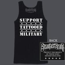 TATTOOED MILITARY by Steadfast - Black Tank Men's