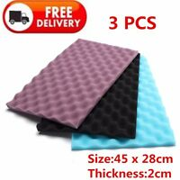 "17"" X 11"" Aquarium Media Filter Foam Sponge Pads 1 Set ( 3Pcs ) New"