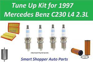 Tune Up Kit for 1997 Mercedes Benz C230 Oil Filter, Air Fuel Filter, Spark Plug