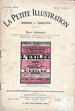 Revue L'EXILEE Henry Kistemaeckers 1913 Louis Gauthier Dumény Juliette Darcourt