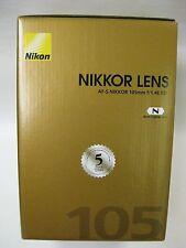 Nikon 105mm f/1.4E ED lens Nikon USA nikon 105mm 1.4E lens