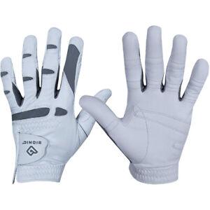 Bionic Men's Cadet Left Hand Performance Grip Pro Golf Glove - White