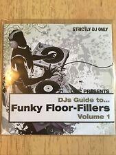 DMC FUNKY FLOOR-FILLERS VOL.1 CD PROMO