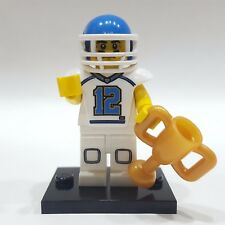 "LEGO Collectible Minifigure #8833 Series 8 ""FOOTBALL PLAYER"" (Complete)"