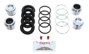 for VOLVO 760 1985-1992 REAR L & R Brake Caliper Repair Kit +Pistons (BRKP384)