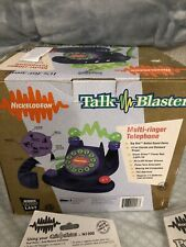 Rare And Vintage Nickelodeon Talk blaster With box