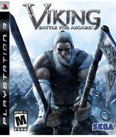 VIKING BATTLE FOR ASGARD PS3 Playstation 3 Game Disc Only 48y