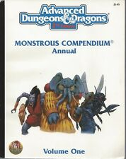 Advanced Dungeons & Dragons RPG  Monstrous Compendium Vol. 1 SC 2.0  # 2145 NEW