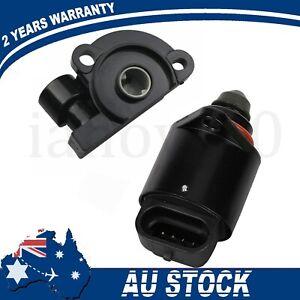Fits For Holden Commodore V6 V8 Set of 2 TPS Sensor & IDLE Air Control Valve NEW