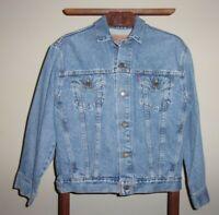 LEVI'S 57511 Levi Strauss Denim Blue Jean Jacket  Size L Red Tab Rare Large16/18