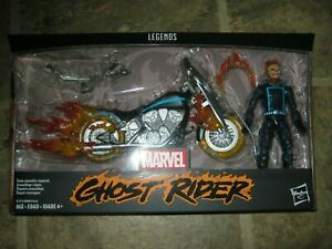 HASBRO MARVEL LEGENDS GHOST RIDER WITH MOTORCYCLE SEALED