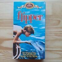 Flipper VHS 1963 Adventure Family Drama Chuck Connors Luke Halpin