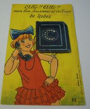 """RODEZ """" ALLO' !! ALLO' !! """" MON BON SOUVENIR ET LES VUES DE RODEZ Aveyron 18-5"""