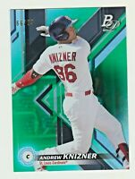 2019 Bowman Platinum TOP PROSPECTS GREEN ANDREW KNIZNER RC 66/99 Cardinals