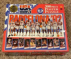 USA Basketball Dream Team 300 Piece Poster Puzzle Michael Jordan NBA Olympics