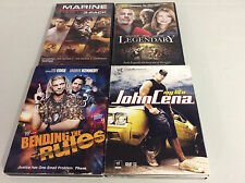 WWE Movie John Cena/ Edge DVD Lot Of 4! Tested! Works!