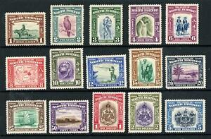 North Borneo 1939 Set of 15 Mint Light Hinged SG 303/317 Cat £1400