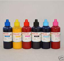 6X100ml Sublimation ink for Epson  R200 R300 R220 R320 R340 cartridge CIS CISS