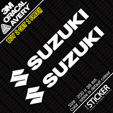 2 x Suzuki LOGO Sticker EVO JDM DRIFT Vinyl Funny Dope Window Laptop Bike