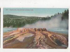 Punch Bowl Yellowstone National Park Vintage Postcard USA 513a