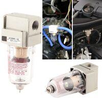 Universal Car Engine Oil Separator Catch Reservoir Can Oil Filter Baffled Kit AU