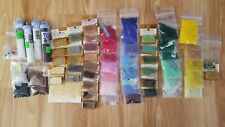 Seed Beads 4lb lot, plus assorted & misc. tools, thread, links, and other beads