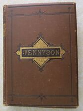 THE COMPLETE POETICAL WORKS OF ALFRED TENNYSON - RARE 1880 HC