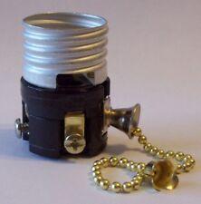 Pull Chain Medium Base Lamp Socket Interior 5 Inch Chain 30685J