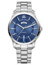 Reloj Automático Maurice Lacroix Pontos Day Date ml 115 41mm azul brazalete