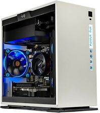Skytech Omega Mini Gaming Pc Case Micro Atx White