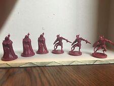 D&D 6 Miniature Lot -  (3 Cultists and 3 Devils) Wrath Ashardalon Monster NEW