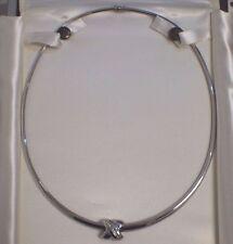 14 K White Gold Diamond Pendant Necklace