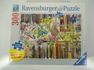 Ravensburger Color with Me 300 Large Format Piece Puzzle Made In Germany Sealed