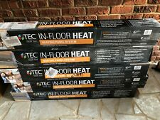 TEC Skill Set IN-FLOOR HEAT Heating Panel System 15sqft And 26sqft