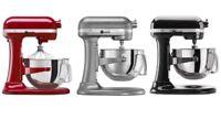 KitchenAid Rkp26M1x Refurb Of KP26M1X Pro 600 Stand Mixer 6-qt Large 3-Colors