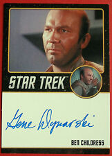 STAR TREK TOS 50th GENE DYNARSKI as Ben Childress LIMITED EDITION Autograph Card