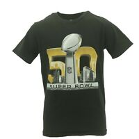 NFL Super Bowl 50 Kids Youth Size Team Apparel Official T-Shirt New With Tags
